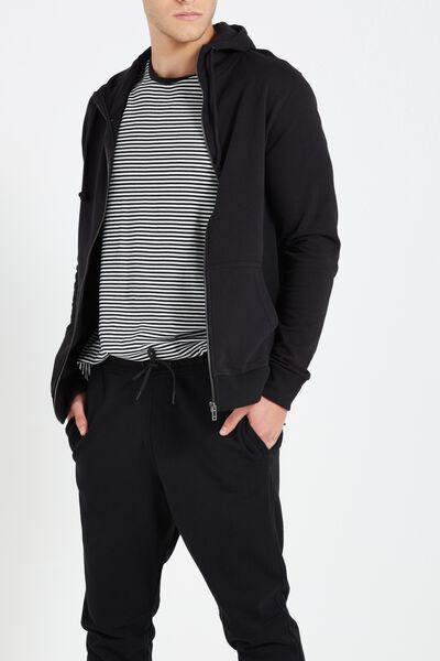 Neue Zip Hood, BLACK