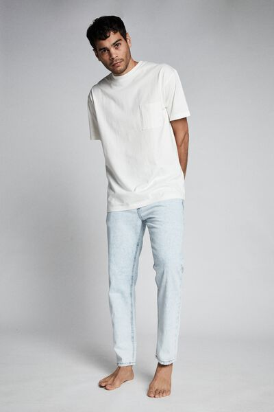 Rigid Relaxed Jean, BLEACHED BLUE