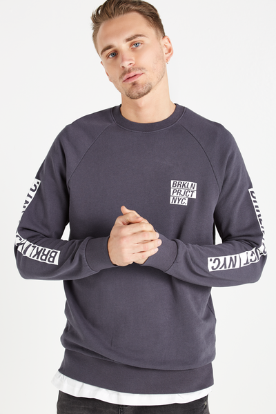 Crew Fleece 2, LATE NIGHT BLUE/BRKLYN PROJECT