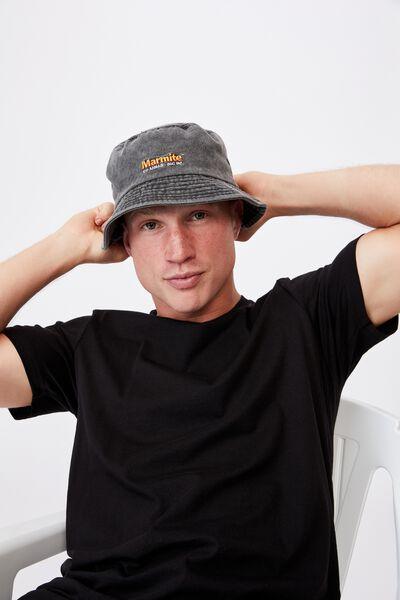 Special Edition Bucket Hat, LCN MARMITE/BLACK DENIM