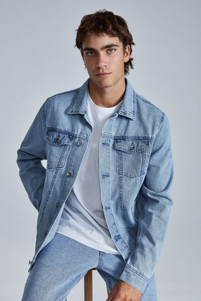 Rodeo Jacket, WEEKDAY BLUE