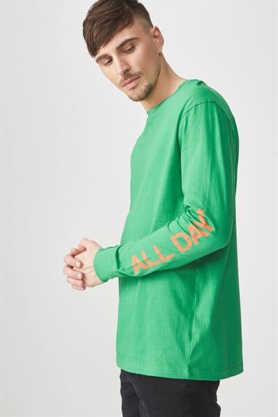 Tbar Long Sleeve, APPLE GREEN/EVERYDAY