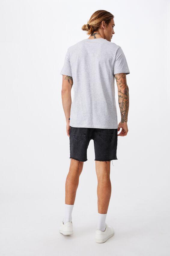 Essential Crew T-Shirt, LIGHT GREY MARLE