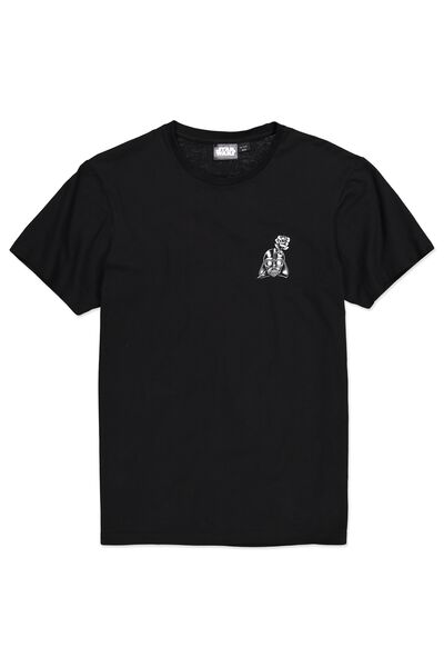 Tbar Collaboration Tee, LC BLACK/ON THE DARKSIDE