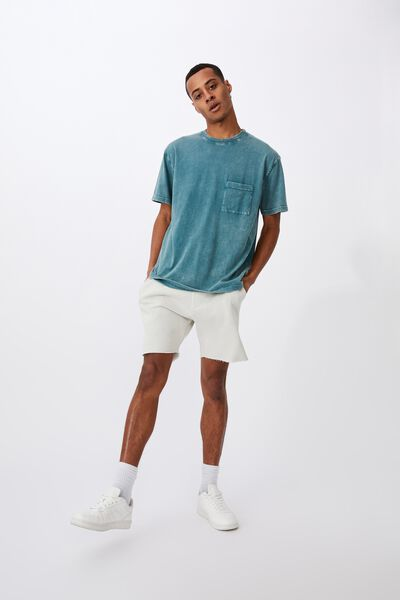 Washed Pocket T-Shirt, DARK TEAL