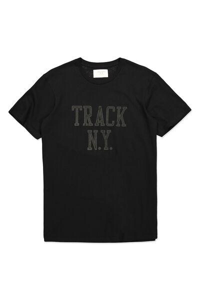 Tbar Tee, BLACK/TRACK NY