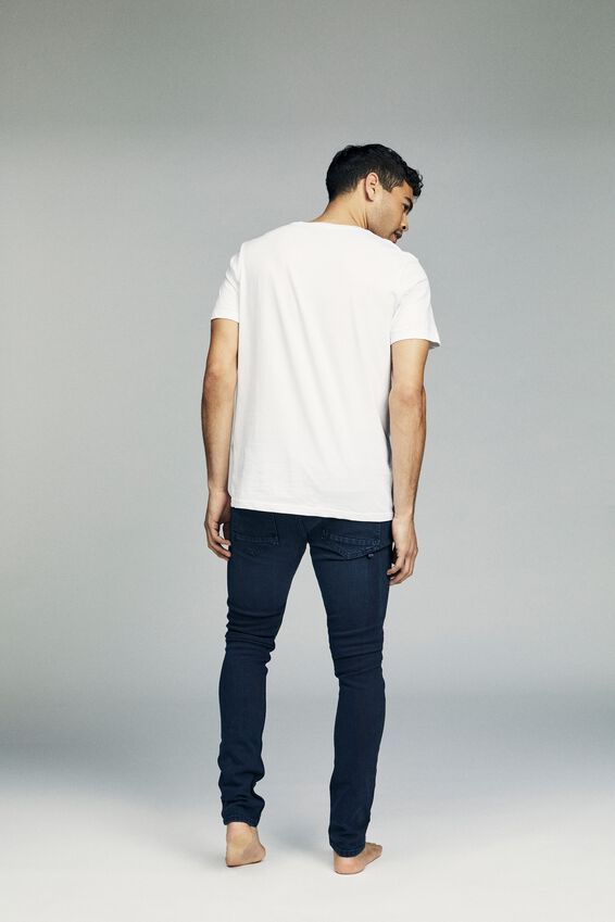 Super Skinny Jean, OPTIC BLUE