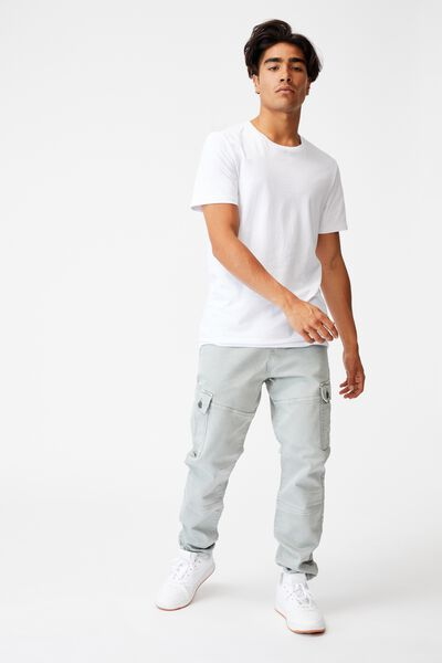 Military Cargo Pant, WASHED QUARRY