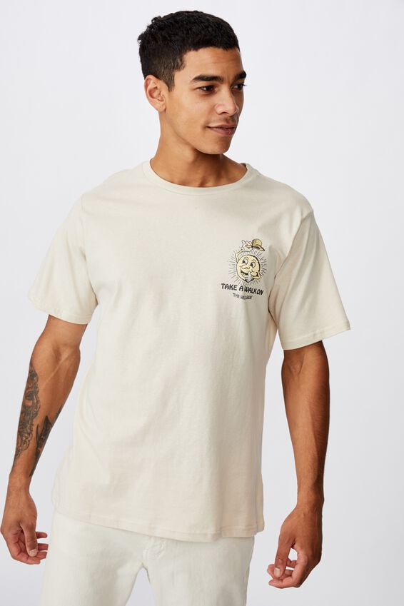 Tbar Art T-Shirt, SK8 PEARL/THE WILD SIDE
