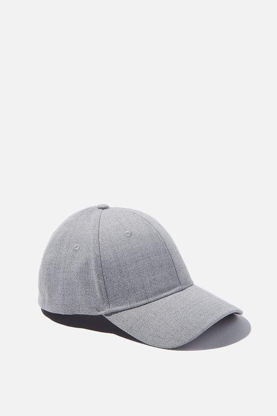 Stretch Fit Active Cap, GREY MARLE