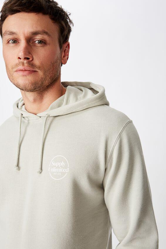 Fleece Pullover 2, SMOKE/SUPPLY UNLIMITED