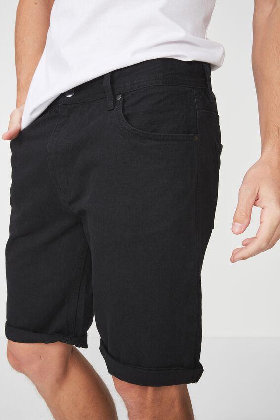 Roller Short, RIGID RAVEN BLACK
