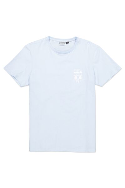 Tbar Collaboration Tee, LC TALC BLUE/DO THE IMPOSSIBLE