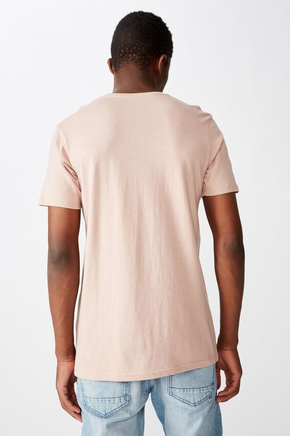 Essential Crew T-Shirt, DIRTY PINK