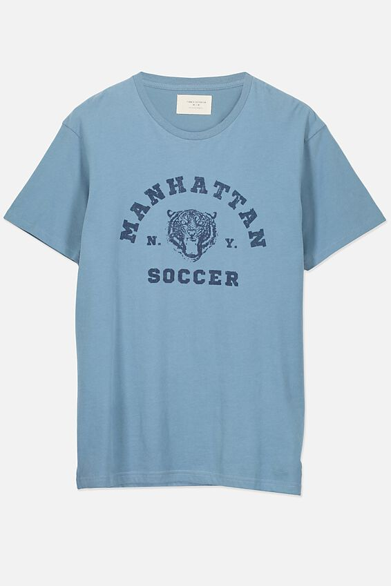 Tbar Tee 2, ADRIATIC BLUE/MANHATTAN SOCCER