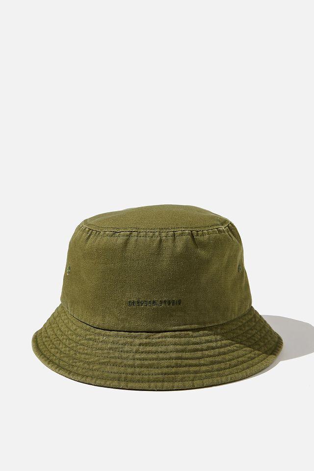 Bucket Hat, GRASS GREEN/WEEKEND STUDIO