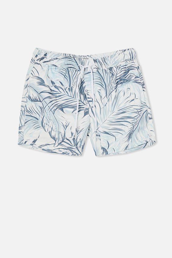 Swim Short, FROND MASHUP TWIST