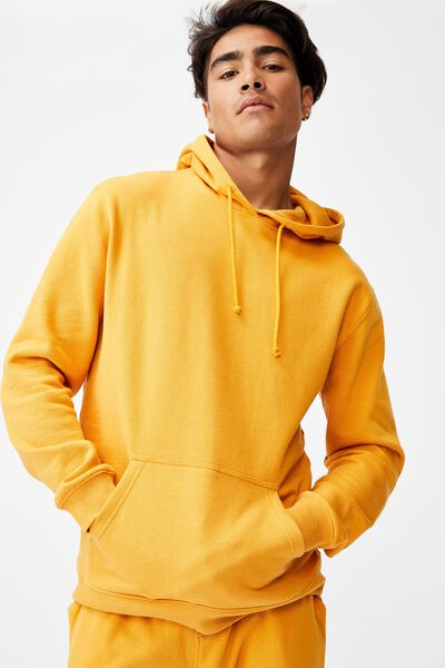 Essential Fleece Pullover, BEESWAX YELLOW
