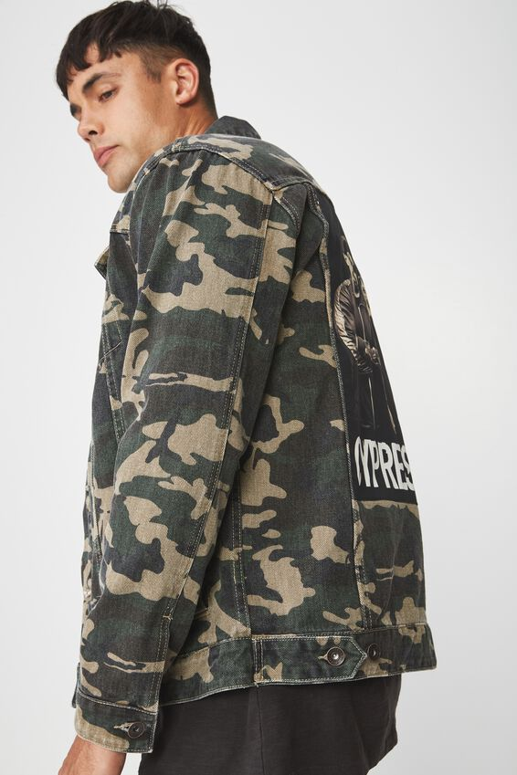 Rodeo Collaboration Jacket, CYPRESS HILL/GREEN CAMO
