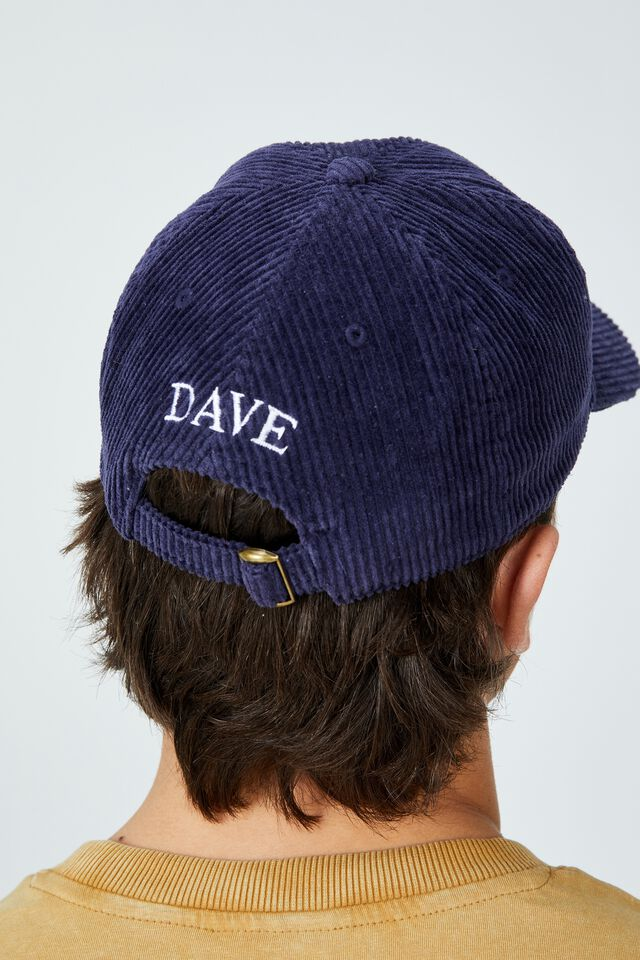 Fosters 6 Panel Hat Personalised, LCN FOS INDIGO/FOSTERS GDAY