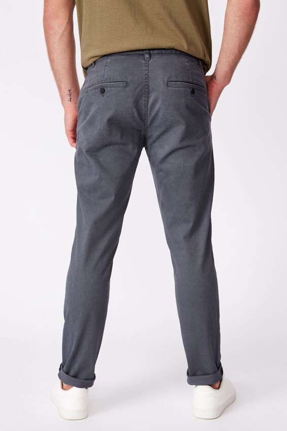 Skinny Stretch Chino, WASHED BLUE
