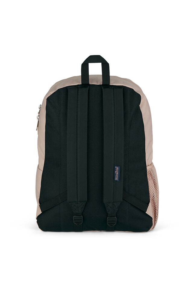 Jansport Cross Town Backpack, MISTY ROSE