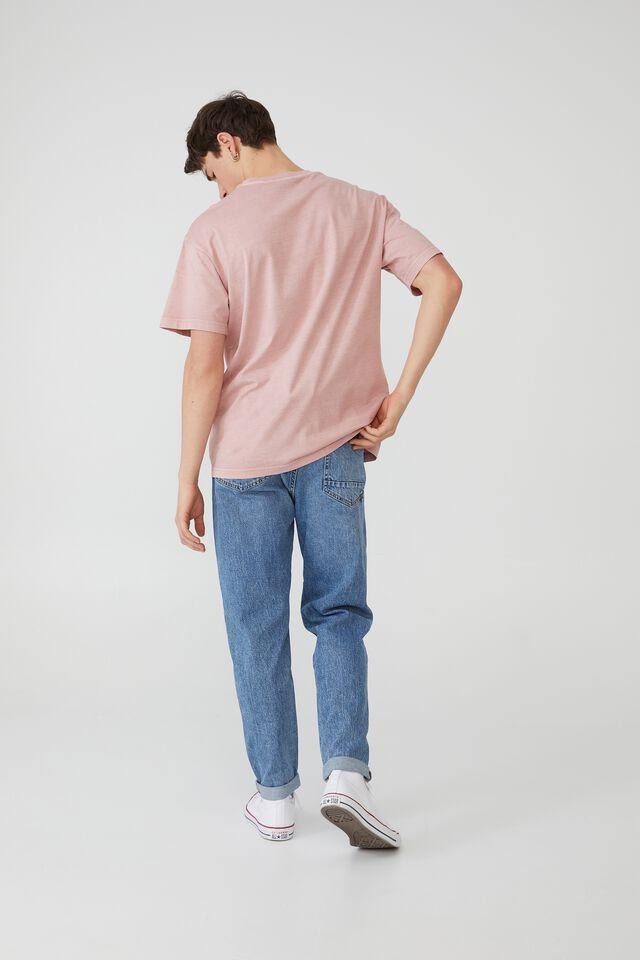 Loose Fit T-Shirt, PLUM