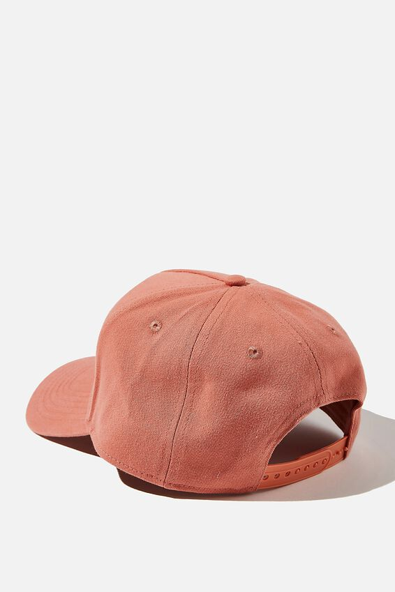 Curved Peak Snapback, DUSTY CLAY/TONAL/LA