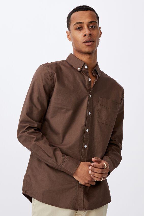 Brunswick Shirt 3, BROWN