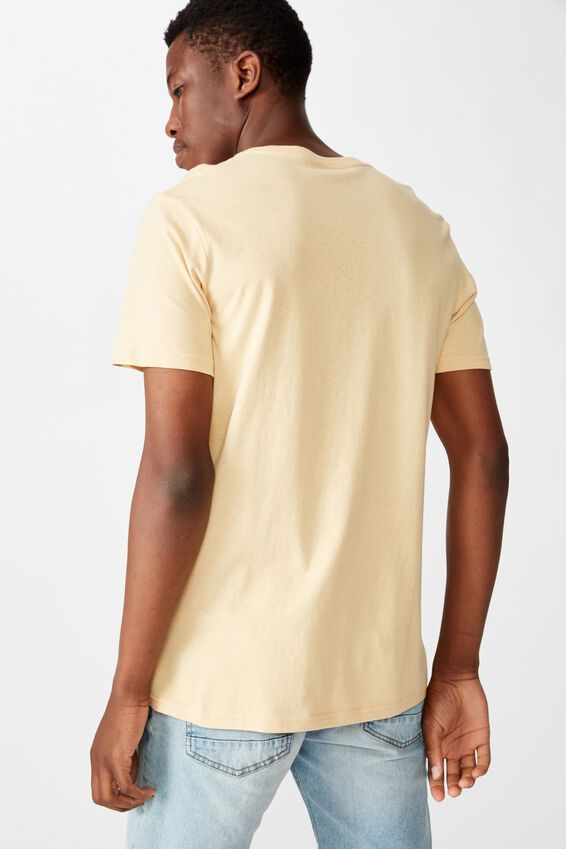 Essential Crew Tee, SUN BLEACHED