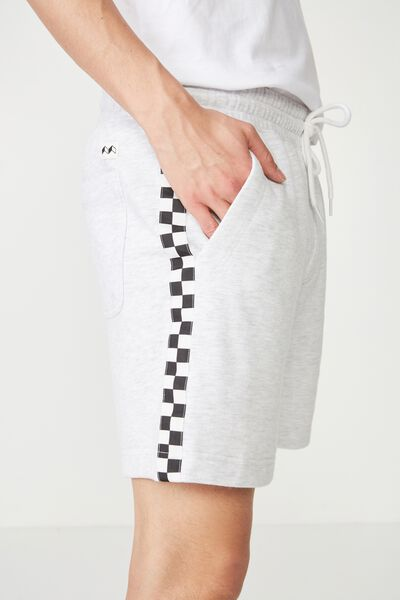 Volley Jogger Short, ATHLETIC MARLE / CHECKER