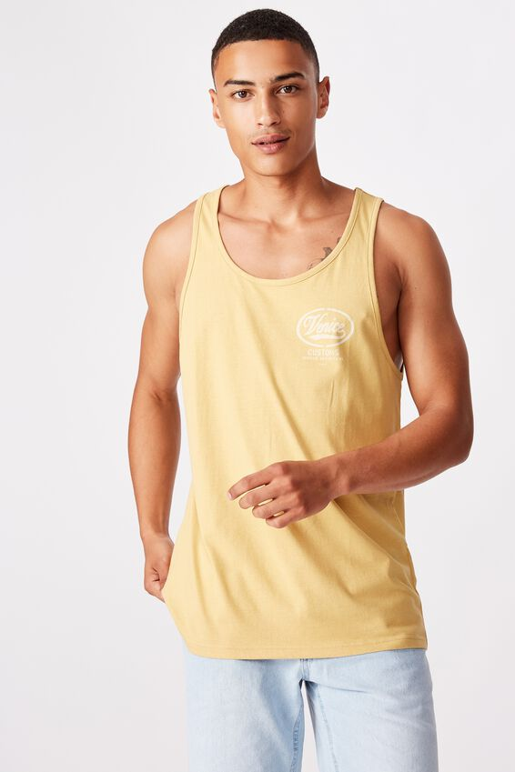 Tbar Tank, SAUTERNE YELLOW/VENICE CUSTOMS