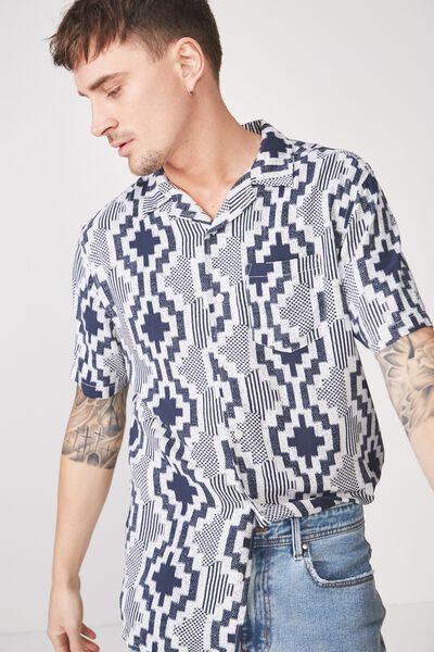 91 Short Sleeve Shirt, IKAT