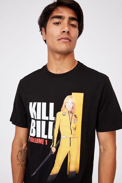 Tbar Collab Movie And Tv T-Shirt, LCN MIR BLACK KILL BILL - BEATRIX KIDDO