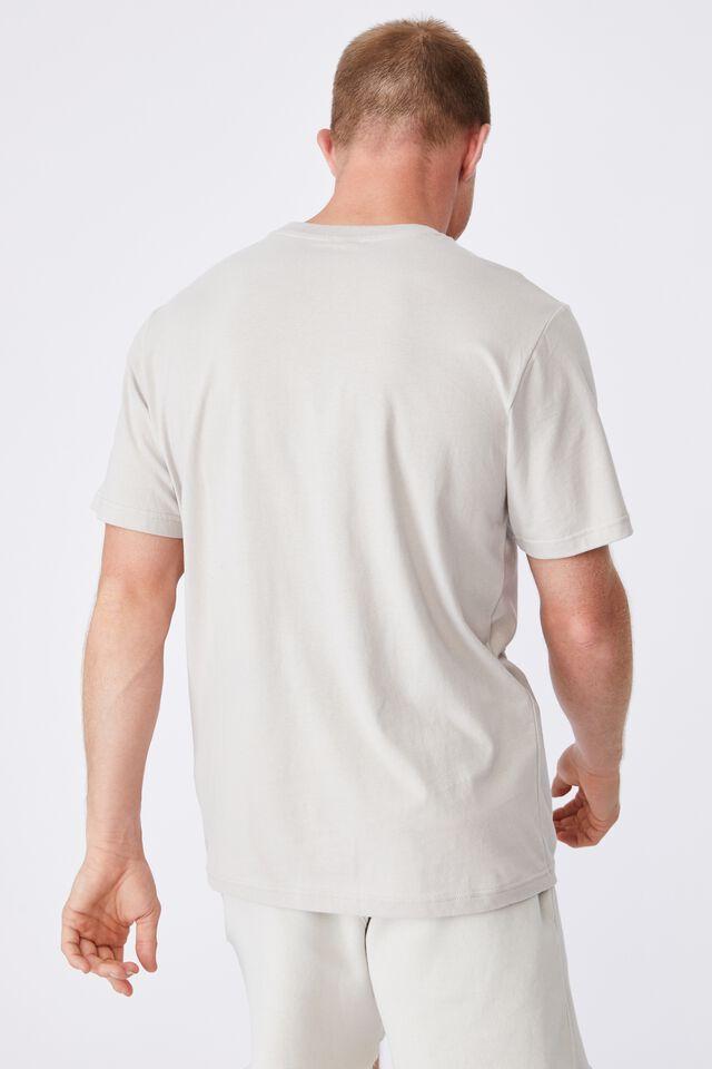 Tbar Collab Pop Culture T-Shirt, LCN NAS LIGHT SMOKE/NASA-LOGOTYPE