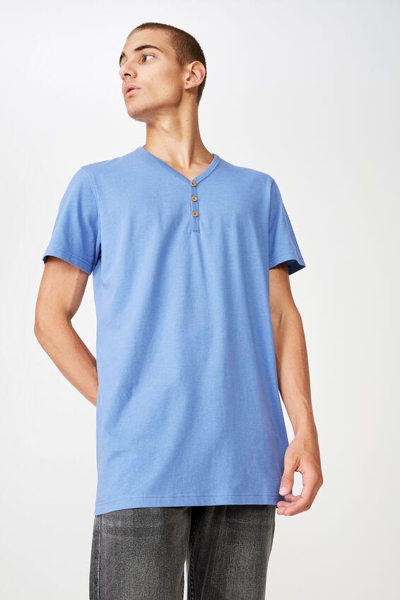 Essential Henley, RIVIERA BLUE