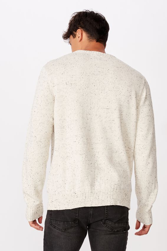 Crew Knit, OATMEAL NEP