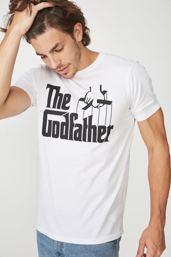 Tbar Collaboration Tee, LC WHITE/THE GODFATHER
