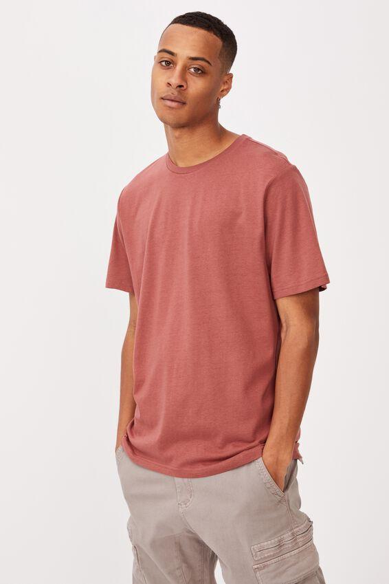 Essential Crew T-Shirt, OX BLOOD
