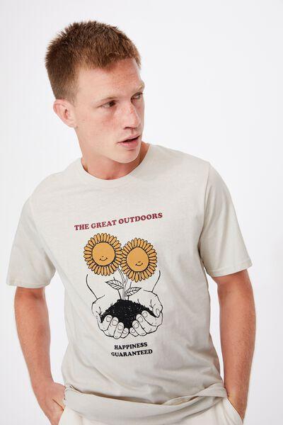 Tbar Art T-Shirt, BONE/THE GREAT OUTDOORS