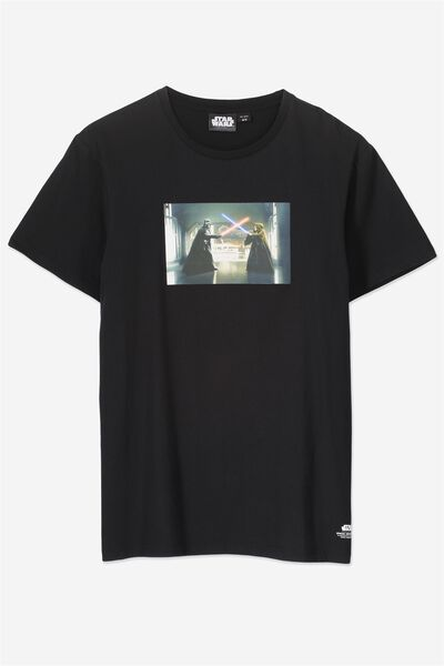 Tbar Collaboration Tee, LC BLACK/A NEW HOPE