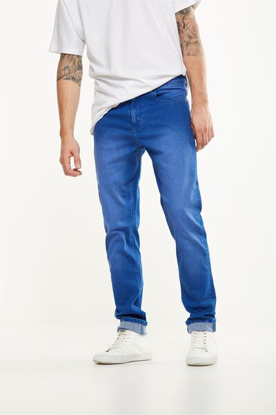 Slim Fit Jean, ELECTRIC BLUE