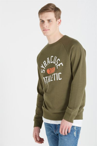 Crew Fleece 2, CYPRESS/SYRACUSE