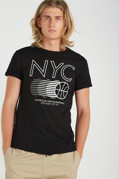 Tbar Tee, BLACK/NYC BALLERS