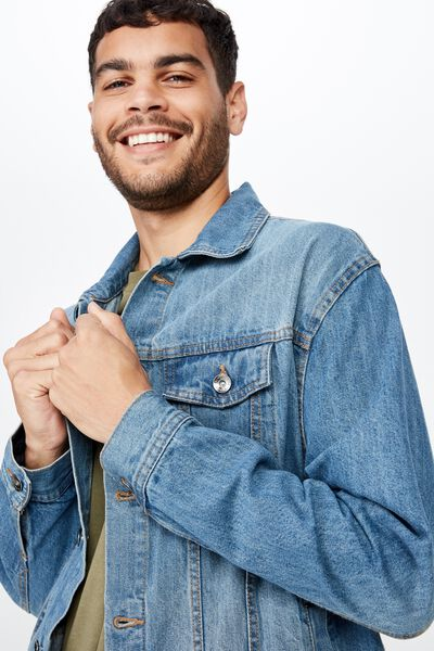 Rodeo Jacket, DISTRESSED BLUE