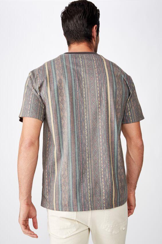 Festival T-Shirt, WASHED MULTI COLOUR