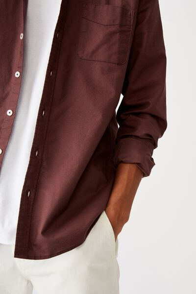 Brunswick Shirt 3, PLUM