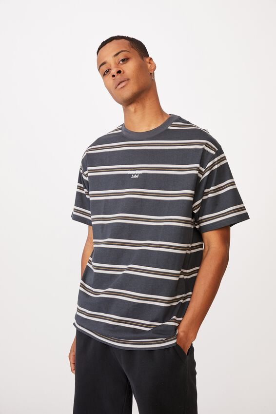 Dylan T-Shirt, SOME TIMES LATE NIGHT BLUE STRIPE