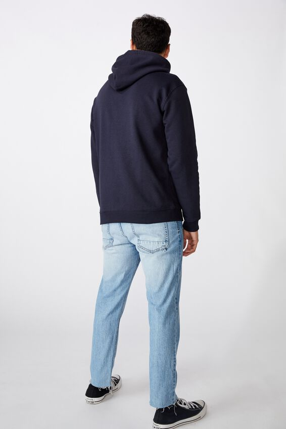 Essential Fleece Pullover, INK NAVY