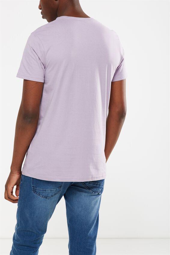 Essential Crew T-Shirt, HAPPY LAVENDER